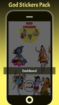 God Sticker ~ WaStickerApps poster