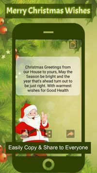 Merry Christmas Wishes ~ Greetings screenshot 3