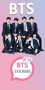 BTS Stickers KPop para Whatsapp poster