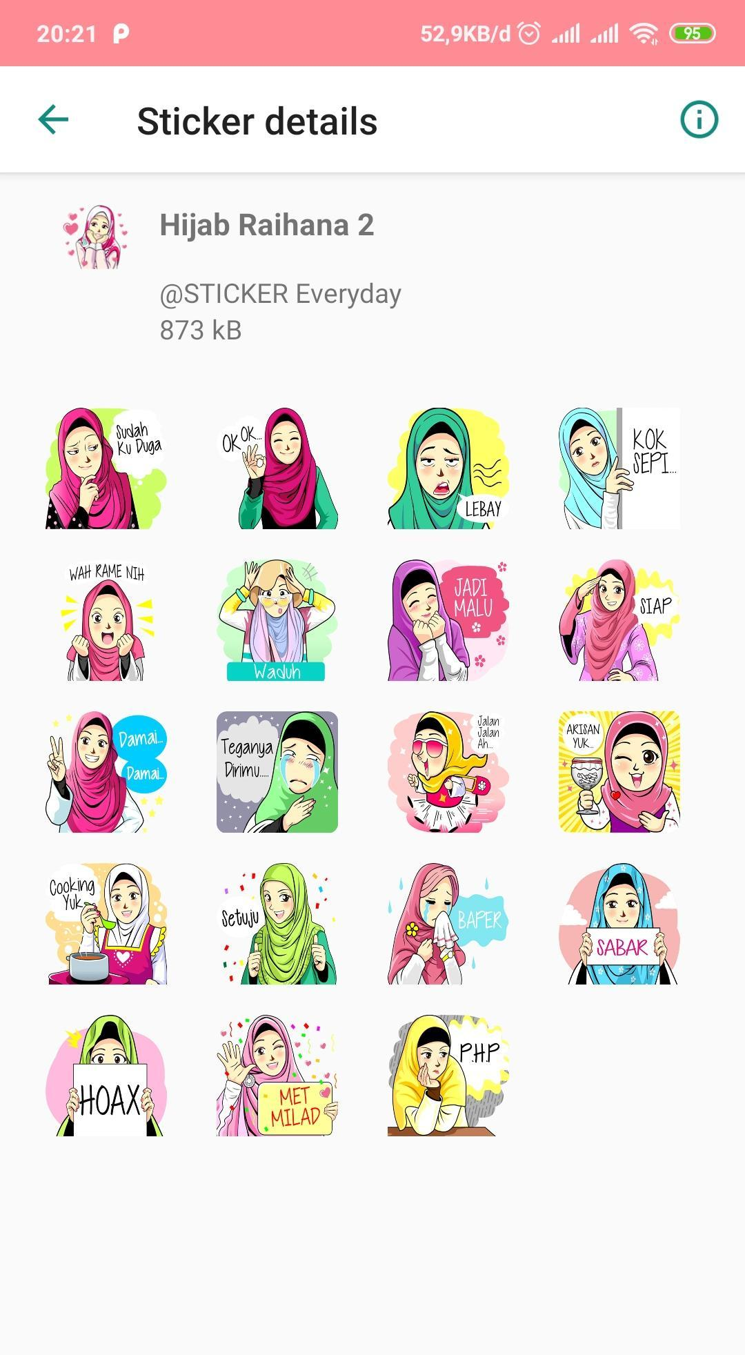 Aisyah Muslimah Sticker For Android Apk Download