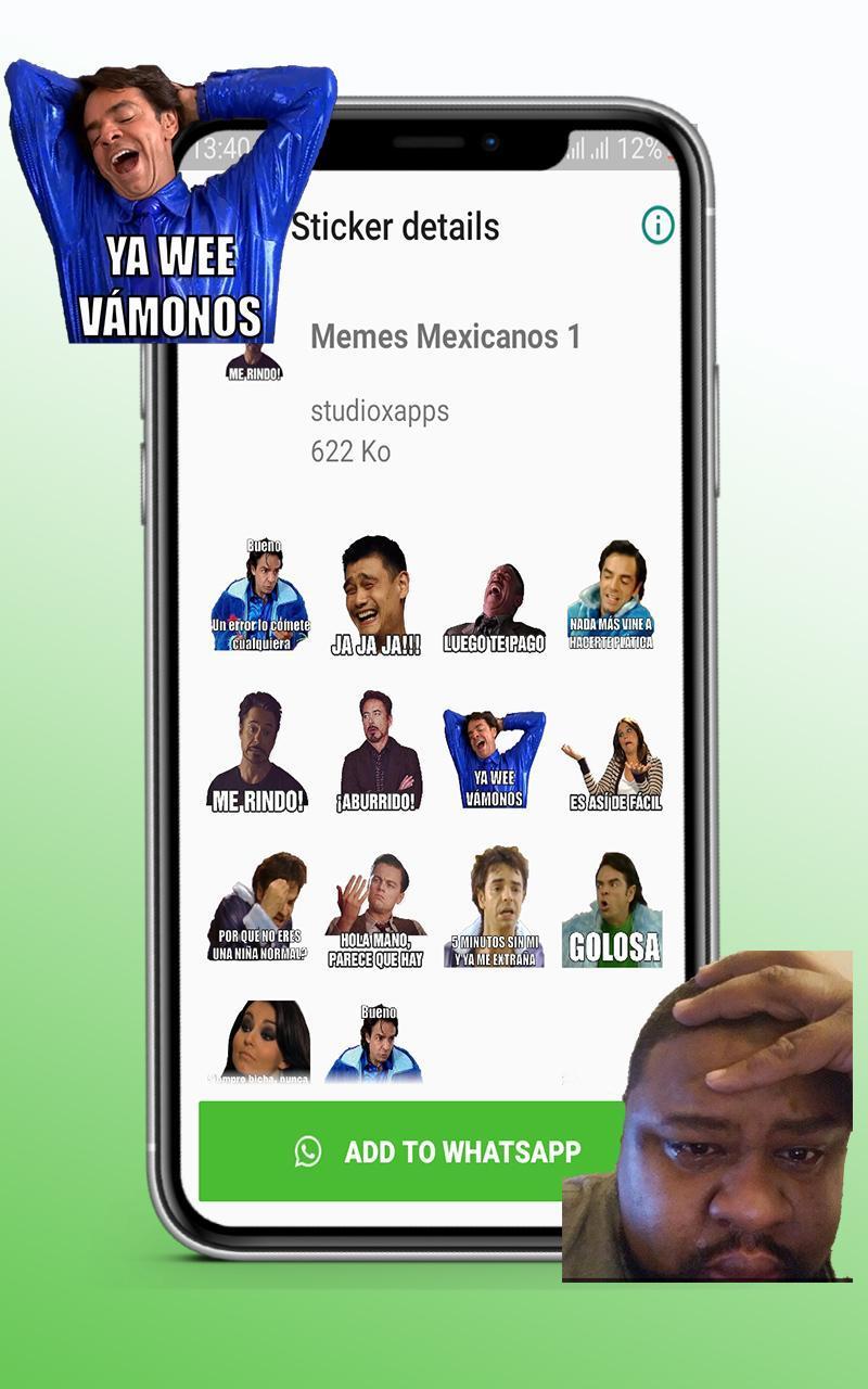 Nuevos Stickers Graciosos Memes Mexico 2020 For Android Apk Download