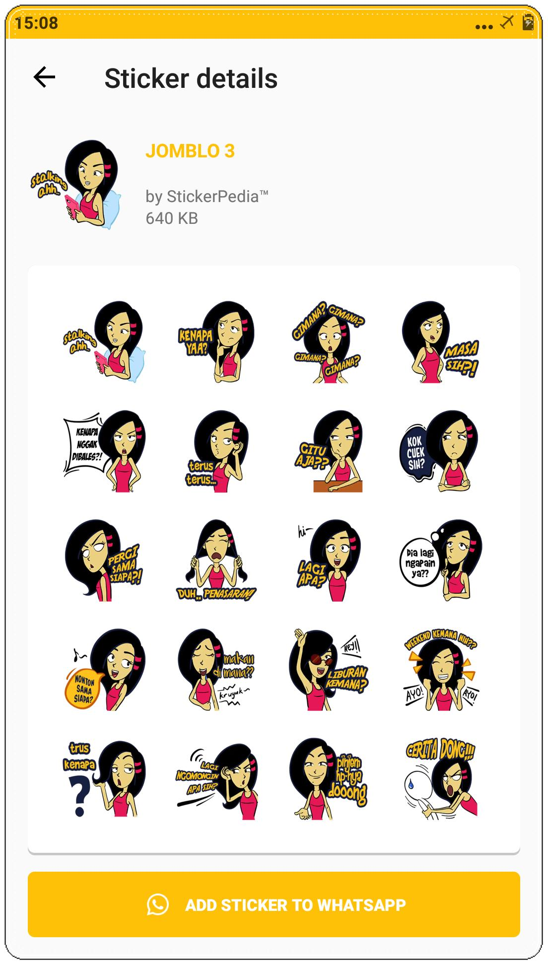 Stiker Jomblo For Whatsapp For Android Apk Download