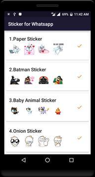 WAStickerApps Sticker for Whatsapp poster