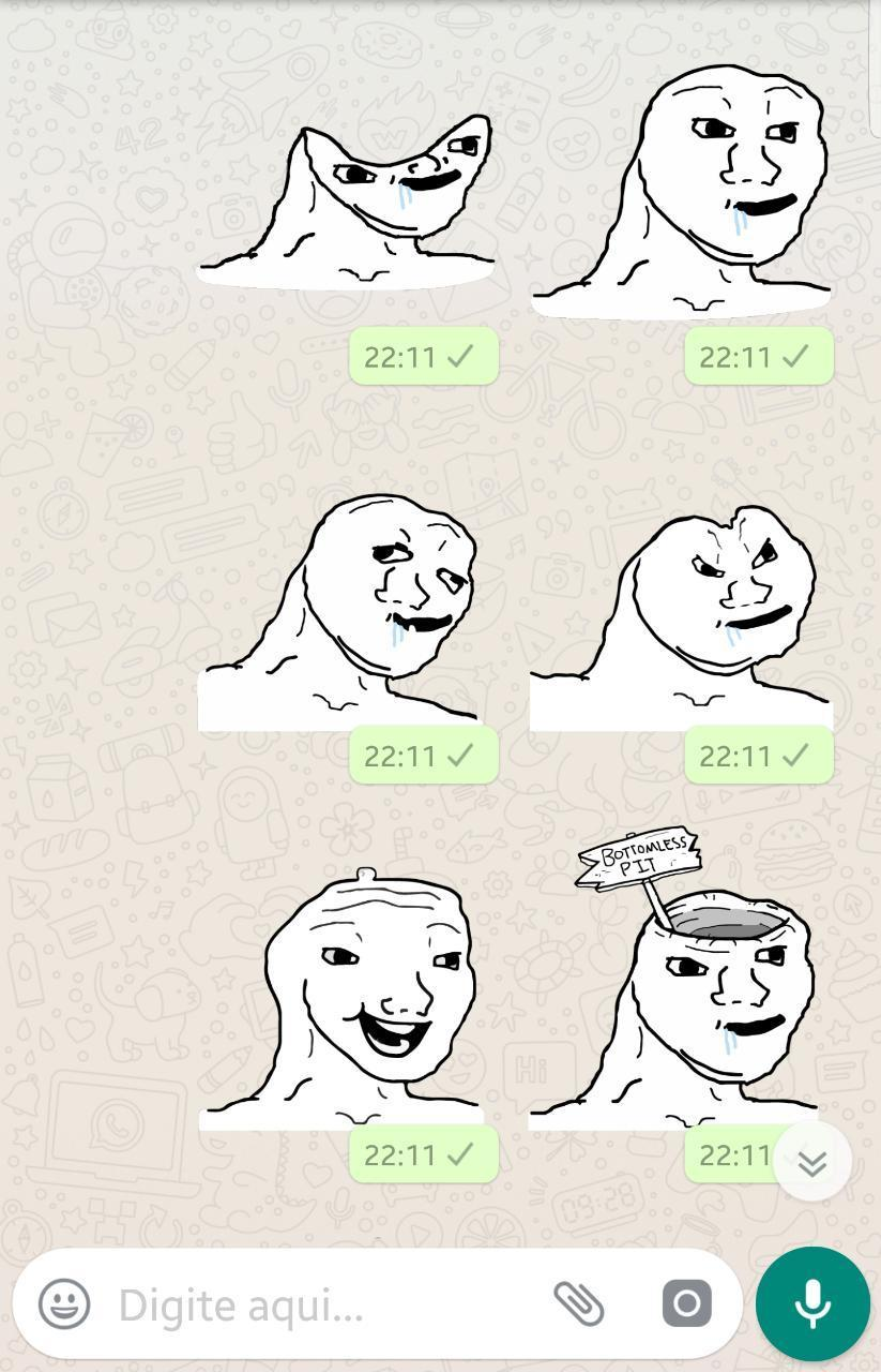 Brainlet Meme Stickers Wastickerapps For Android Apk Download