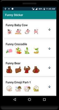 Funny Sticker скриншот 2