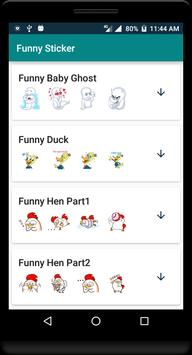 Funny Sticker скриншот 5