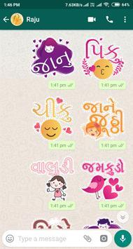 Gujarati Stickers screenshot 20