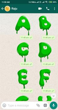 Letter WAStickerApp - Letter Stickers for Whatsapp screenshot 15