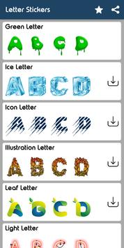 Letter WAStickerApp - Letter Stickers for Whatsapp screenshot 18