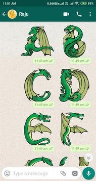Letter WAStickerApp - Letter Stickers for Whatsapp screenshot 23