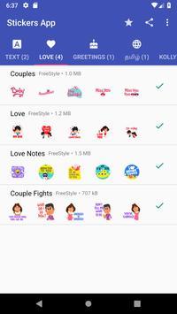 FreeStyle Stickers screenshot 2