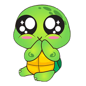 Turtle Funny Stickers for WhatsApp 2019 icon