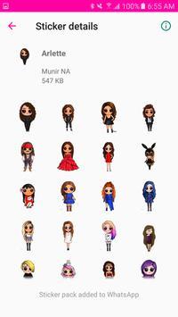 Fashion Stickers screenshot 5