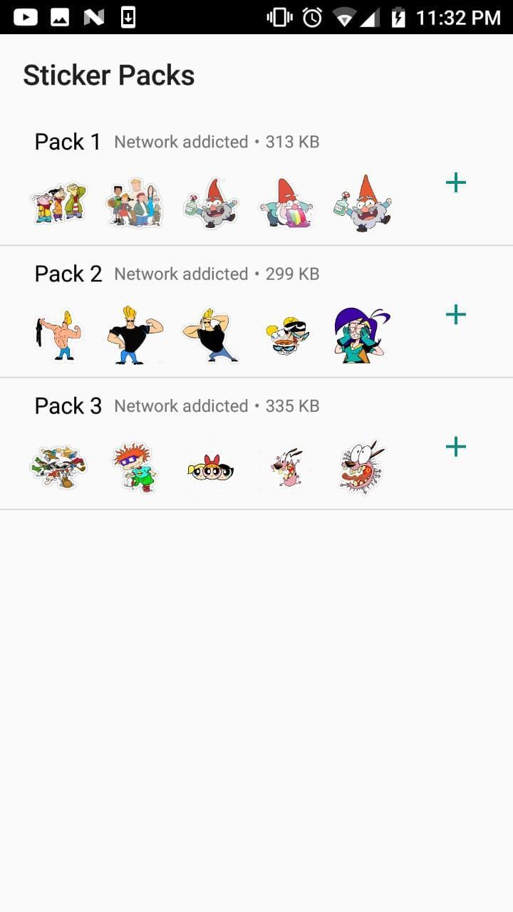 Old Cartoon Stickers for WhatsApp (2019) for Android - APK