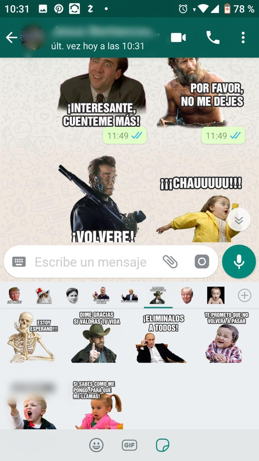 Memes Con Frases Stickers En Español Para Whatsapp For