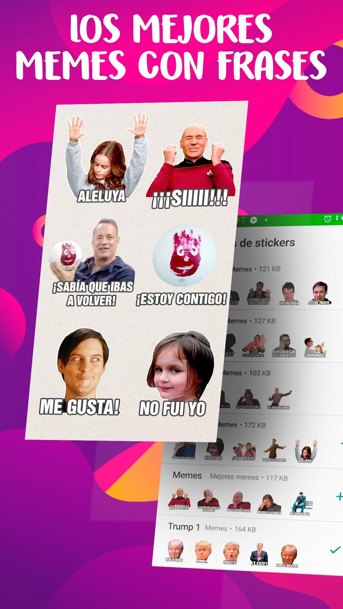 Memes Con Frases Stickers En Espanol Para Whatsapp For Android