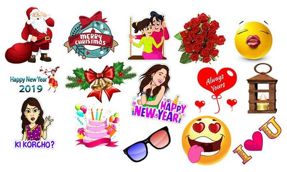 Stickers For Chatting – All WAStickerApps screenshot 1