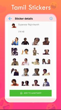 New Tamil Stickers for Whatsapp poster