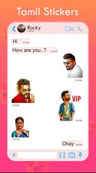 New Tamil Stickers for Whatsapp screenshot 1