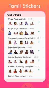 New Tamil Stickers for Whatsapp screenshot 4