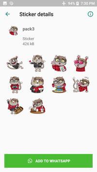 WAStickerApps - Cat & Dog Stickers screenshot 2
