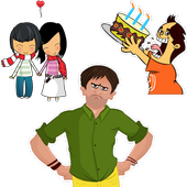 Animated Stickers Maker, Text Stickers & GIF Maker 圖標