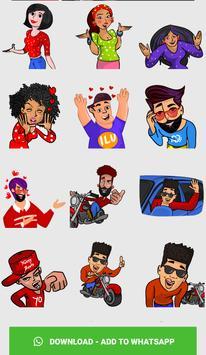 Stickers For WhatsApp ( WAStickerApps ) screenshot 3