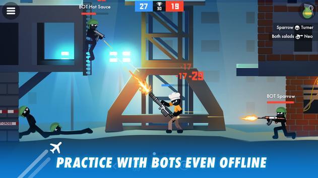 Stick Combats: Multiplayer Stickman Battle Shooter screenshot 14