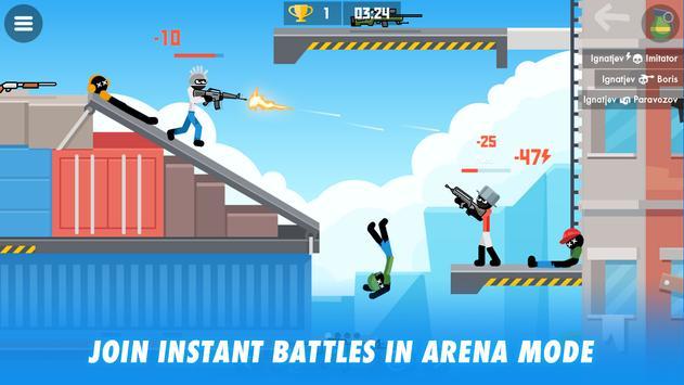Stick Combats: Multiplayer Stickman Battle Shooter screenshot 12