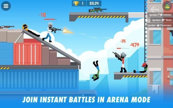 Stick Combats: Multiplayer Stickman Battle Shooter screenshot 6