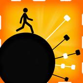 Stickman Circle Swing icon