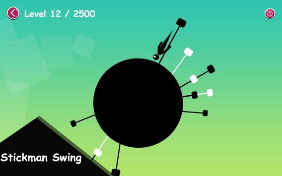 Stickman Circle Swing screenshot 7