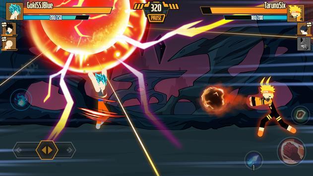 Stickman Dragon Fight screenshot 2