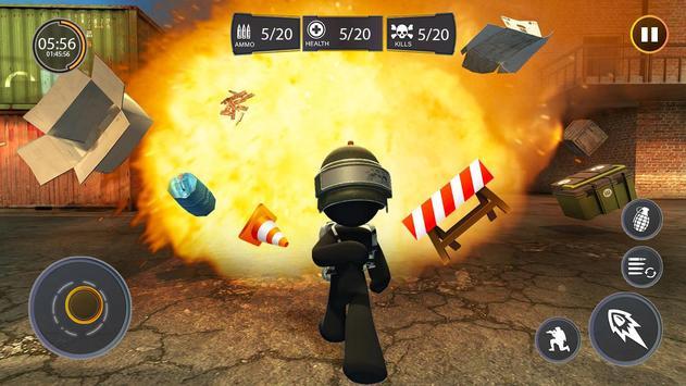 Stickman Free Fire screenshot 7