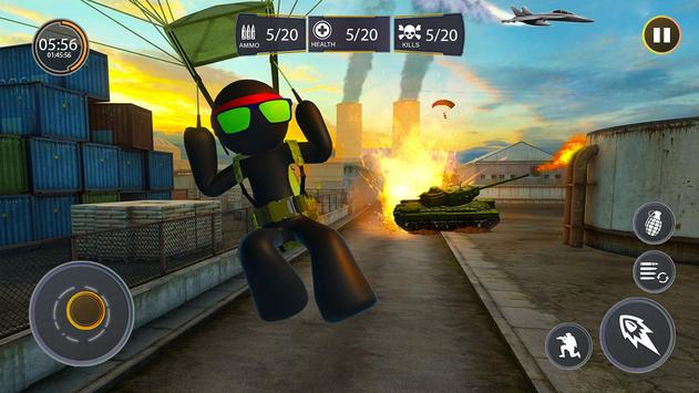 Stickman Free Fire screenshot 5