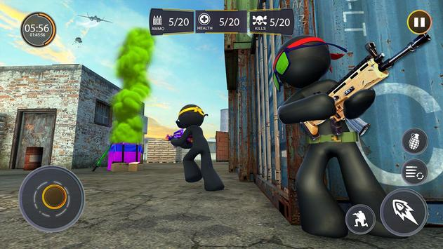 Stickman Free Fire screenshot 6