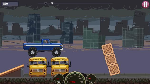 Drive or Die🧟: Давить зомби Pixel Earn to Racing скриншот 4