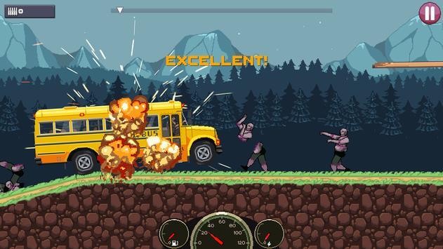 Drive or Die🧟: Давить зомби Pixel Earn to Racing скриншот 5