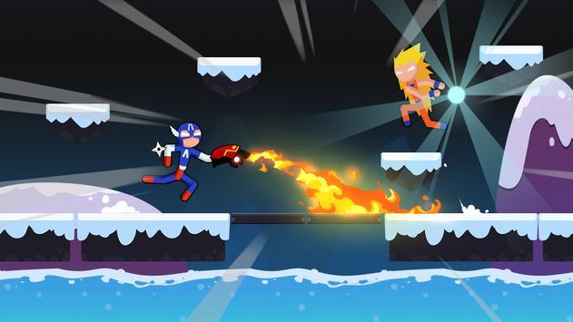 Stickman Dragon Fight - Supreme Stickman Warriors screenshot 14