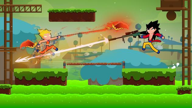 Stickman Dragon Fight - Supreme Stickman Warriors screenshot 4