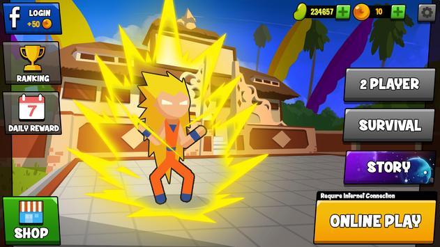 Stickman Dragon Fight - Supreme Stickman Warriors screenshot 7