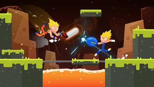 Stickman Dragon Fight - Supreme Stickman Warriors screenshot 8