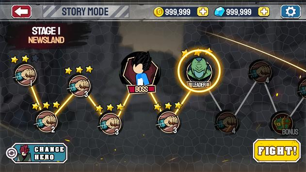 Stickman Warriors screenshot 6