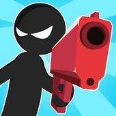 Stickman Battles: Online Shooter icon