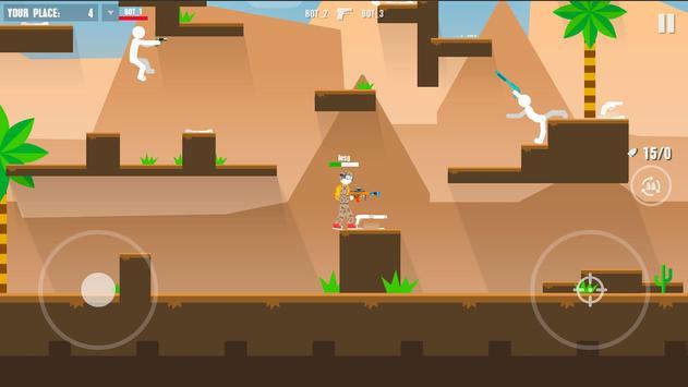 Stickman Battles: Online Shooter screenshot 3