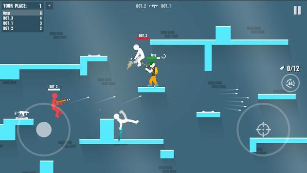 Stickman Battles: Online Shooter screenshot 12