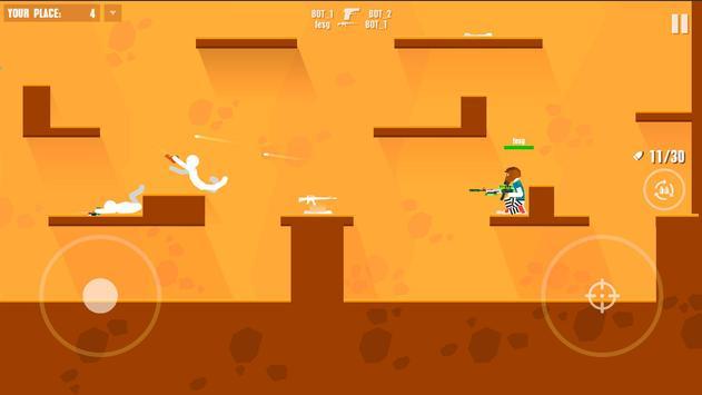 Stickman Battles: Online Shooter screenshot 1