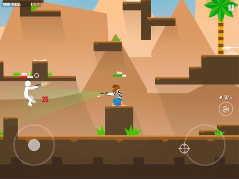Stickman Battles: Online Shooter screenshot 9