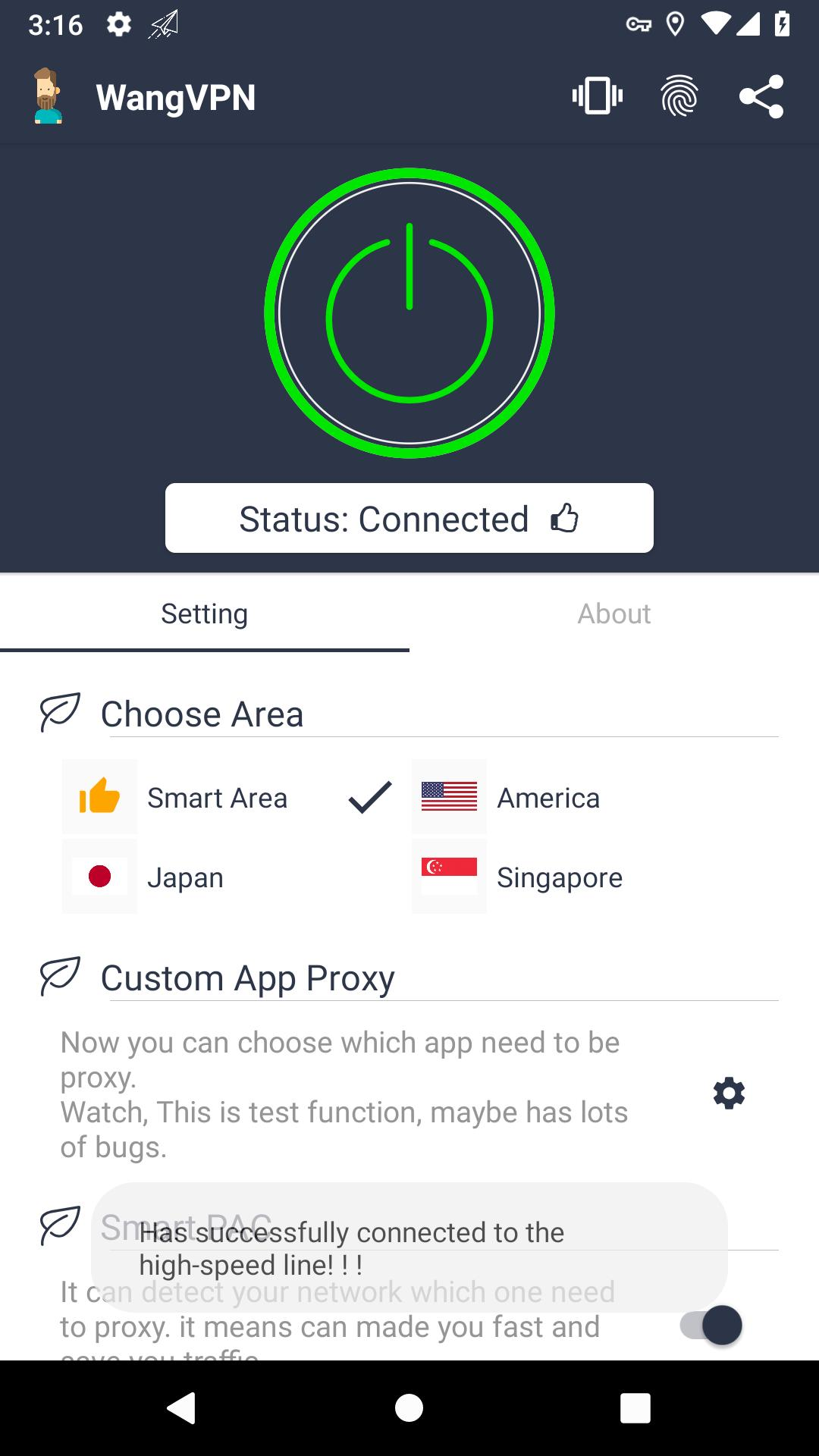 Wang VPN ❤️- Free Fast Stable Best VPN Just try it