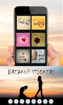 Breakup Stickers screenshot 1